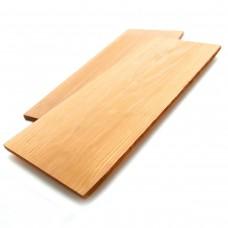 Доски для копчения кедровые 2шт (19см х 38см)