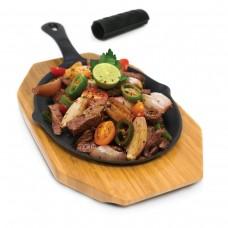Набор для приготовления Фахита/Оджахури (чугунная сковородка, подставка прихватка)