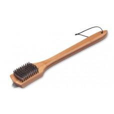 Щетка для гриля с бамбуковой ручкой,  46 см.