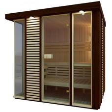 Сауна Saunax Exclusive 2000x2000 (Осина/Ольха)
