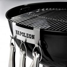 Держатель кухонных принадлежностей (3 крюка, нержавеющая сталь)