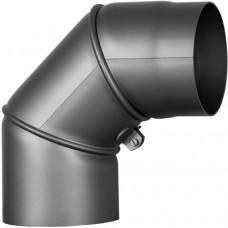 Колено регулируемое угол 90 d-150 mm