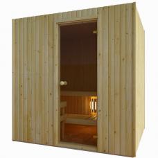 Сауна Saunax Trendline 1500x1500 (Ель)