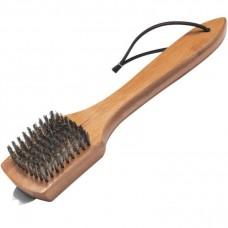 Щетка для гриля с бамбуковой ручкой,  30 см.