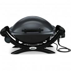 Электрический гриль Weber Q 1400, тёмно-серый 52020079