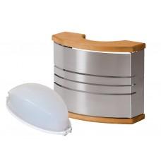 Стальной светильник для сауны