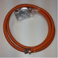 Комплект для подключения к газовому баллону L=1.5м. (морозостойкий шланг)
