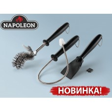 Набор инструментов для ухода за газовым грилем (4 предмета)