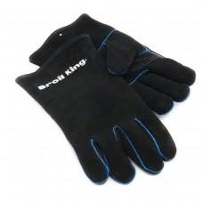 Кожаные перчатки для гриля
