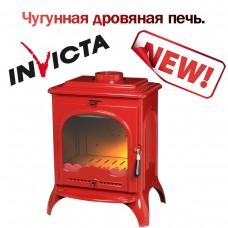 ПЕЧЬ-КАМИН SEVILLE эмаль красный NEW