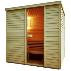 Сауна Saunax Classic 2000x2500 (Осина/Ольха)