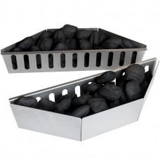 Комплект из двух лотков-разделителей угля