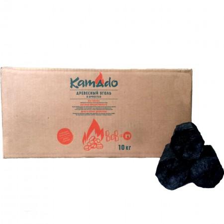 """Уголь """"Камадо"""" (брикеты) 10 кг, коробка"""